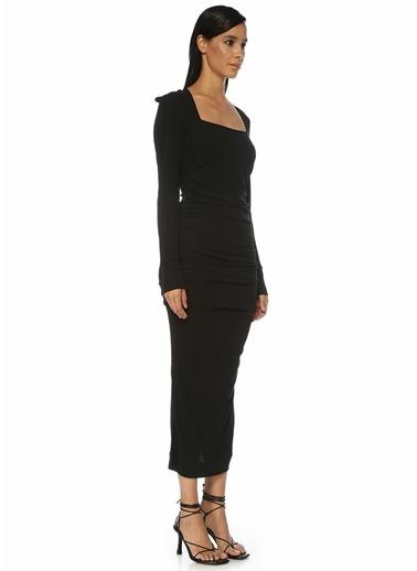Ganni Elbise Siyah